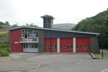 Abertillery, Abertillery Fire Station, Monmouthshire © Kevin Hale